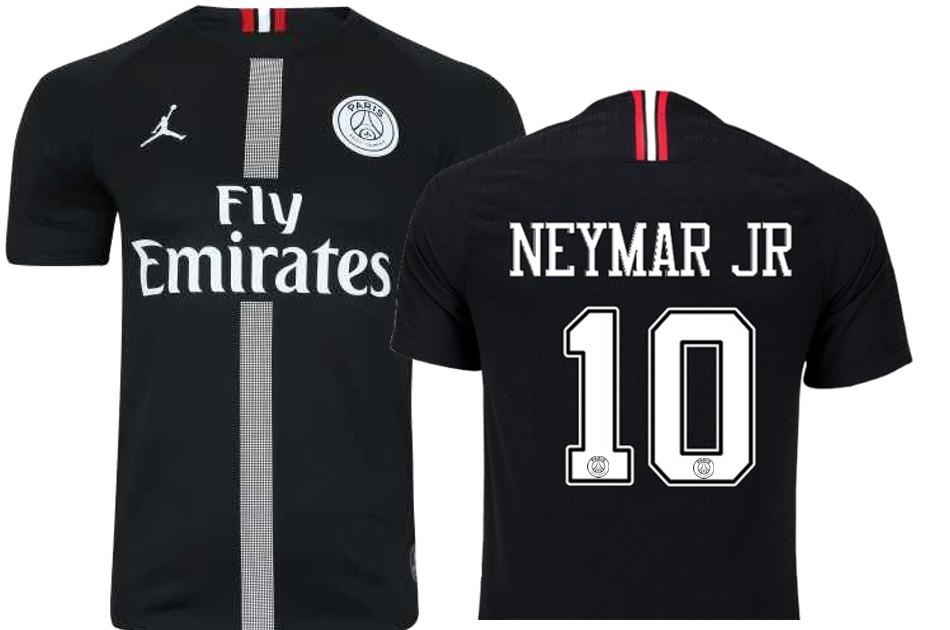 df8a6d952 Camisa Psg Neymar Jr Nova 2018 2019 Oficial Lançamento - R  179