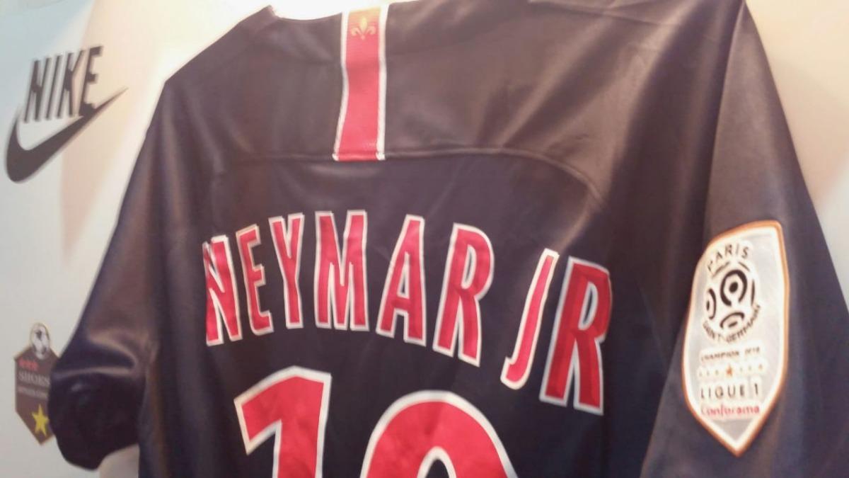 867f54d0fb Camisa Psg Original Nike 18 19 Home Neymar N°10 Oferta - R  399