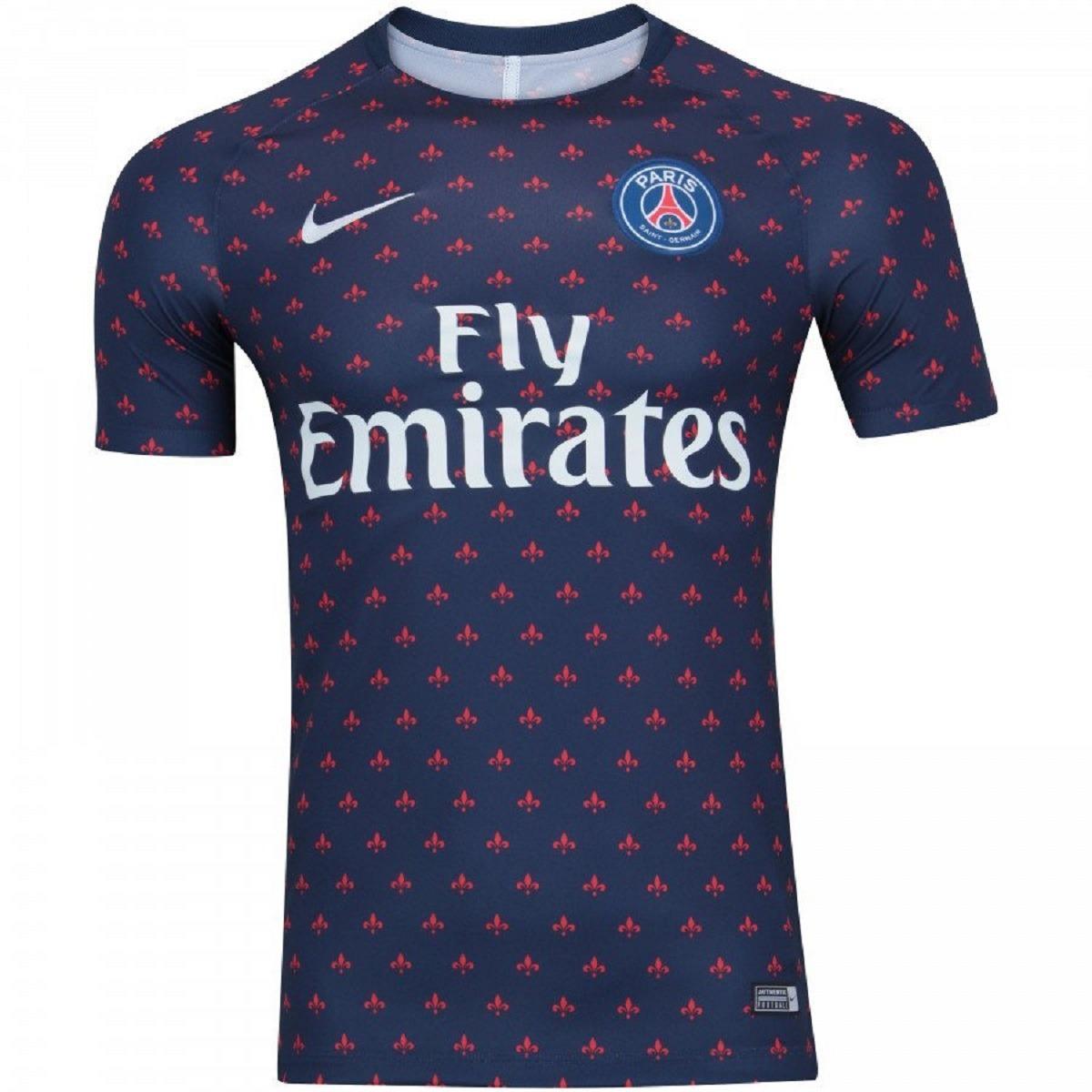 8fe453e13d Camisa Psg Pré Jogo Lançamento 2019 Pronta Entrega - R$ 120,00 em ...