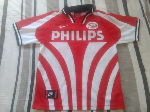 camisa psv holanda - nike - anos 90 - tam. p (veste g)