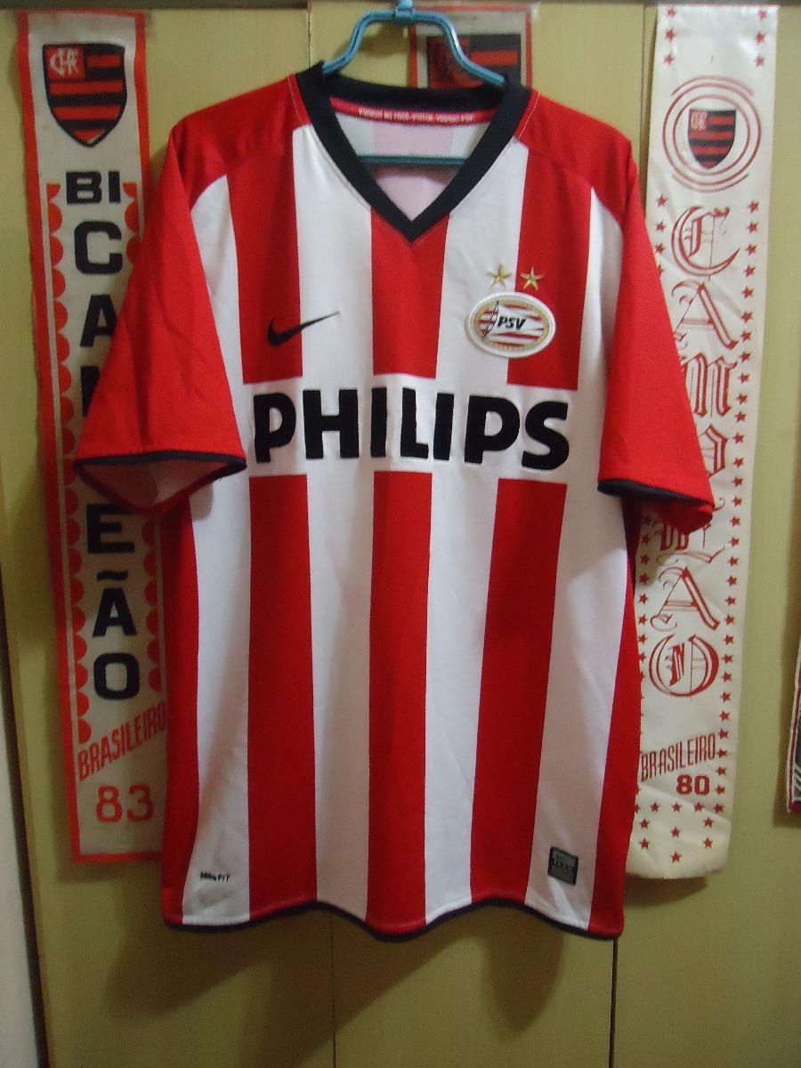 03d1784a3e Camisa Psv ( Holanda   Nike   Nº 9 ) - R  140