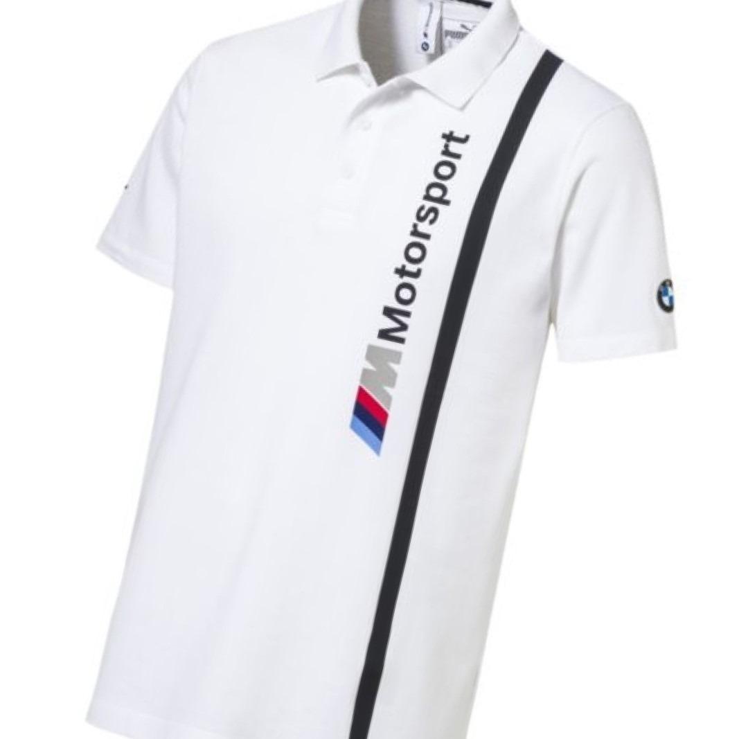 ... camisa puma bmw motorsport mms branca polo carregando zoom ... cfdd750373e69