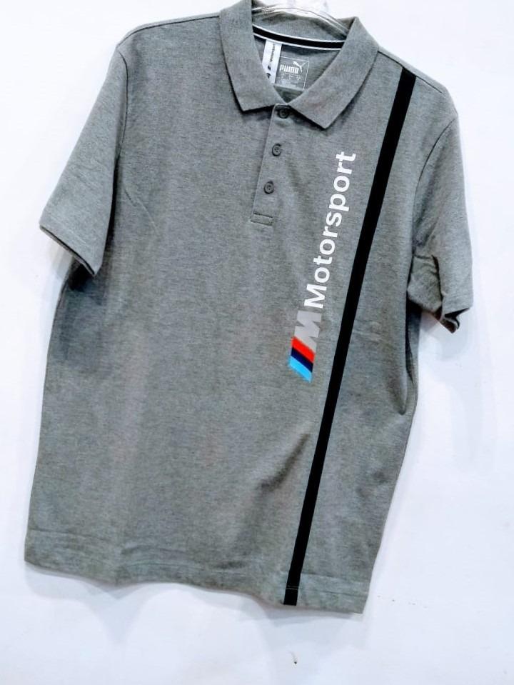 camisa puma bmw motorsport mms cinza polo. Carregando zoom. 8b623093d8a40