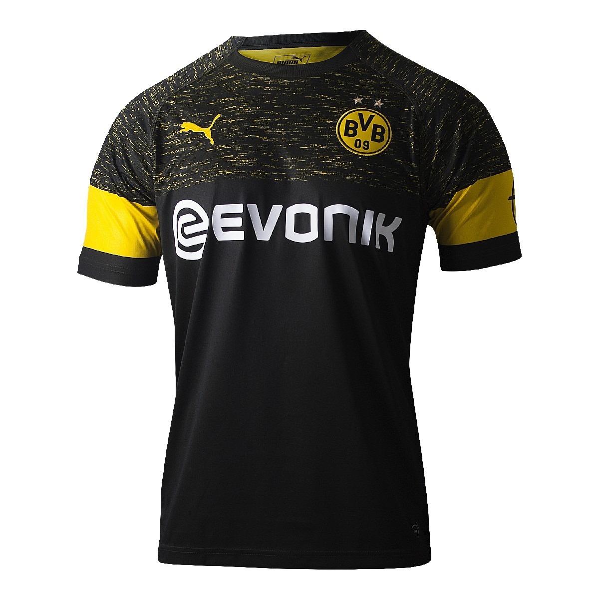 Camisa Puma Borussia Dortmund Away 2018 19  48ec4ab942516