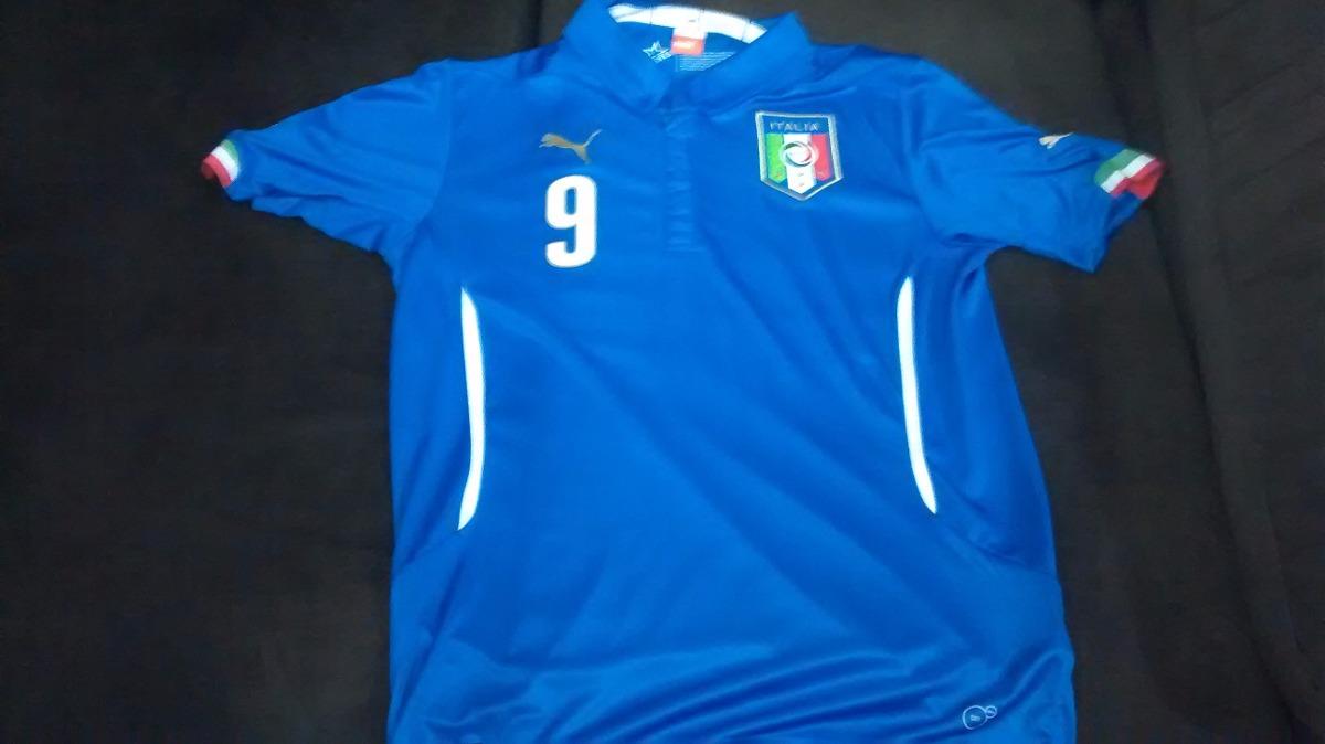 ac908707a393a camisa puma itália 2014  9 balotelli. Carregando zoom.