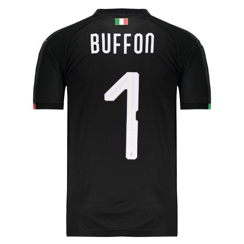 fbd6c782cc4e4 Camisa Puma Italia Goleiro 2018 1 Buffon - R  249