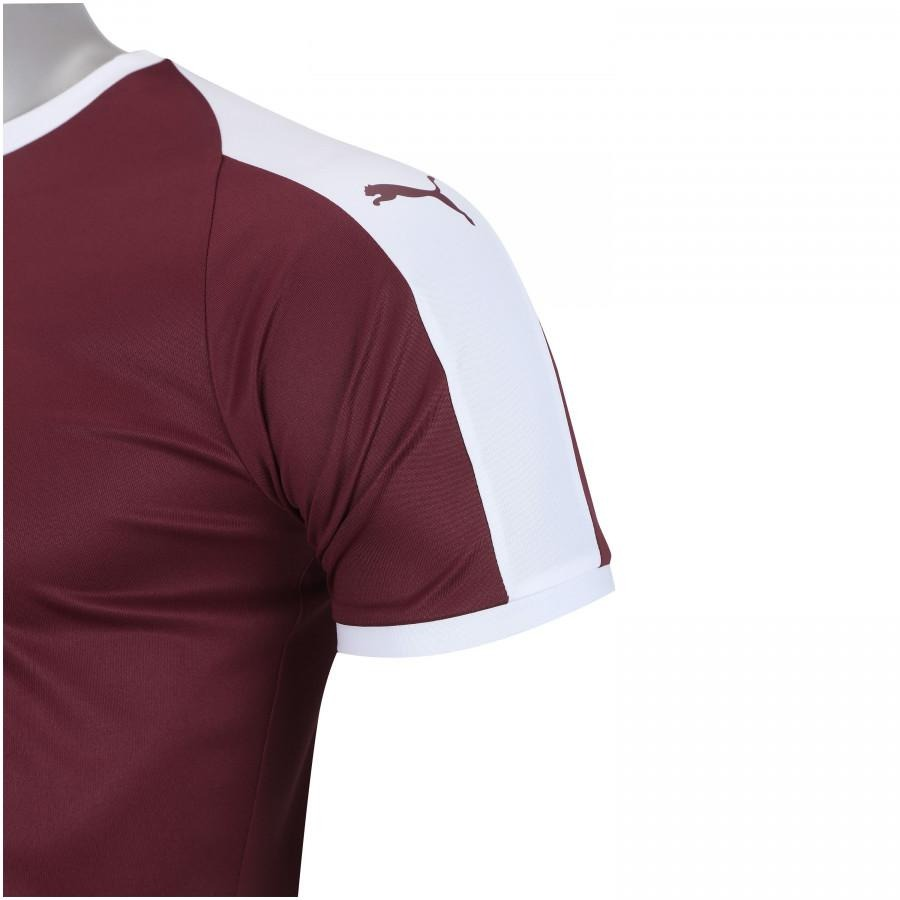camisa puma liga jersey - masculina - cor vinho branco. Carregando zoom. c5ff1b40f037