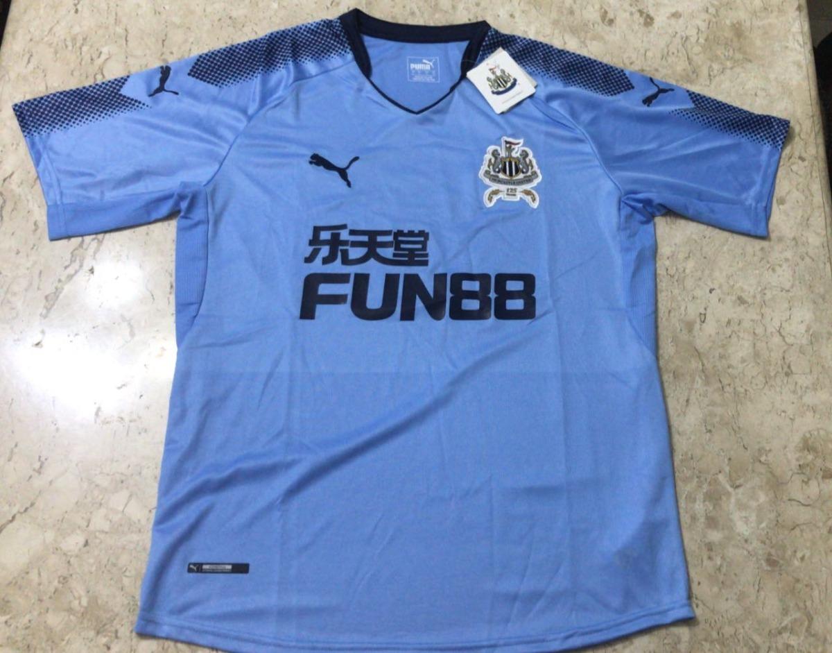Camisa Puma Newcastle 2017-2018 - Pronta Entrega - R  169 d9b743552c845