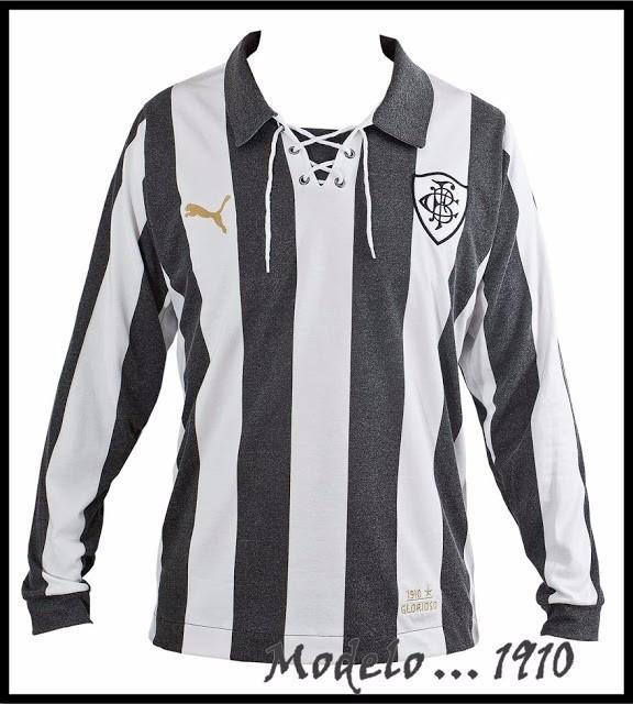 01db670312 Camisa Puma Retrô 1910 Botafogo Manga Longa - R  49