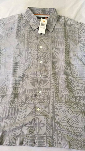 camisa quiksilver (waterman) talla s