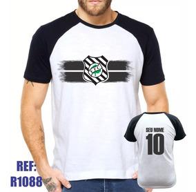 6ae60b893b071c Camisa Raglan Figueirense Futebol Personalizada Com Nome
