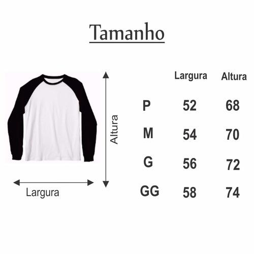 camisa raglan manga longa só ctrl s salva swag thug life