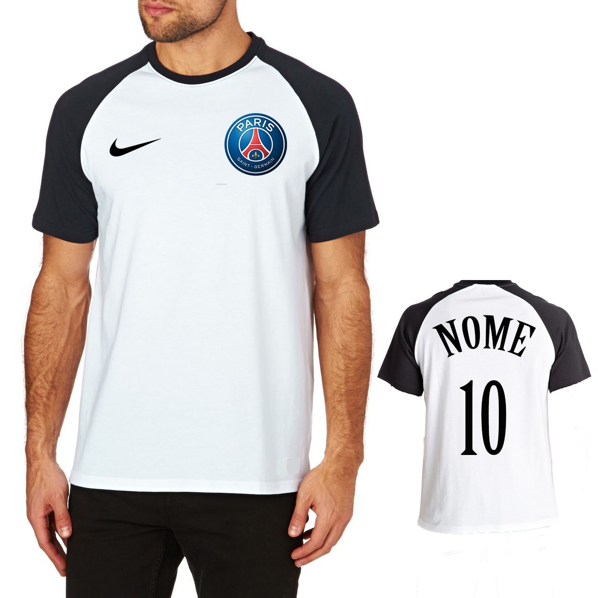 50831910b5 camisa raglan paris saint-germain psg masculina time futebol. Carregando  zoom.