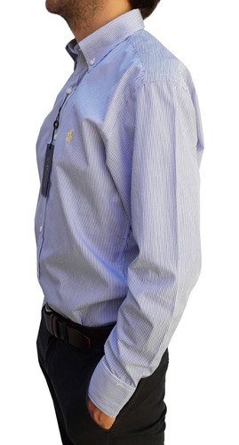 camisa ralph lauren original manga larga rayada 1