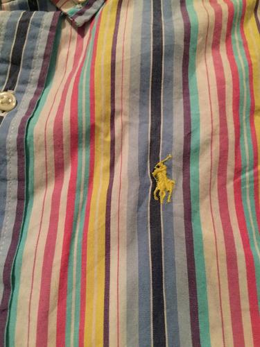 camisa ralph lauren talla 7 años