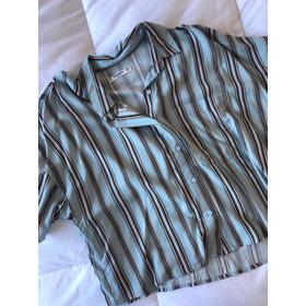 Camisa Rayada Pull&bear Talle M