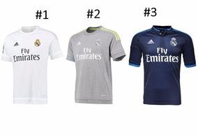 42fd4d0620 Camisa Real Madrid 15 16 - Camisas de Times Masculina Espanhóis Real Madrid  no Mercado Livre Brasil