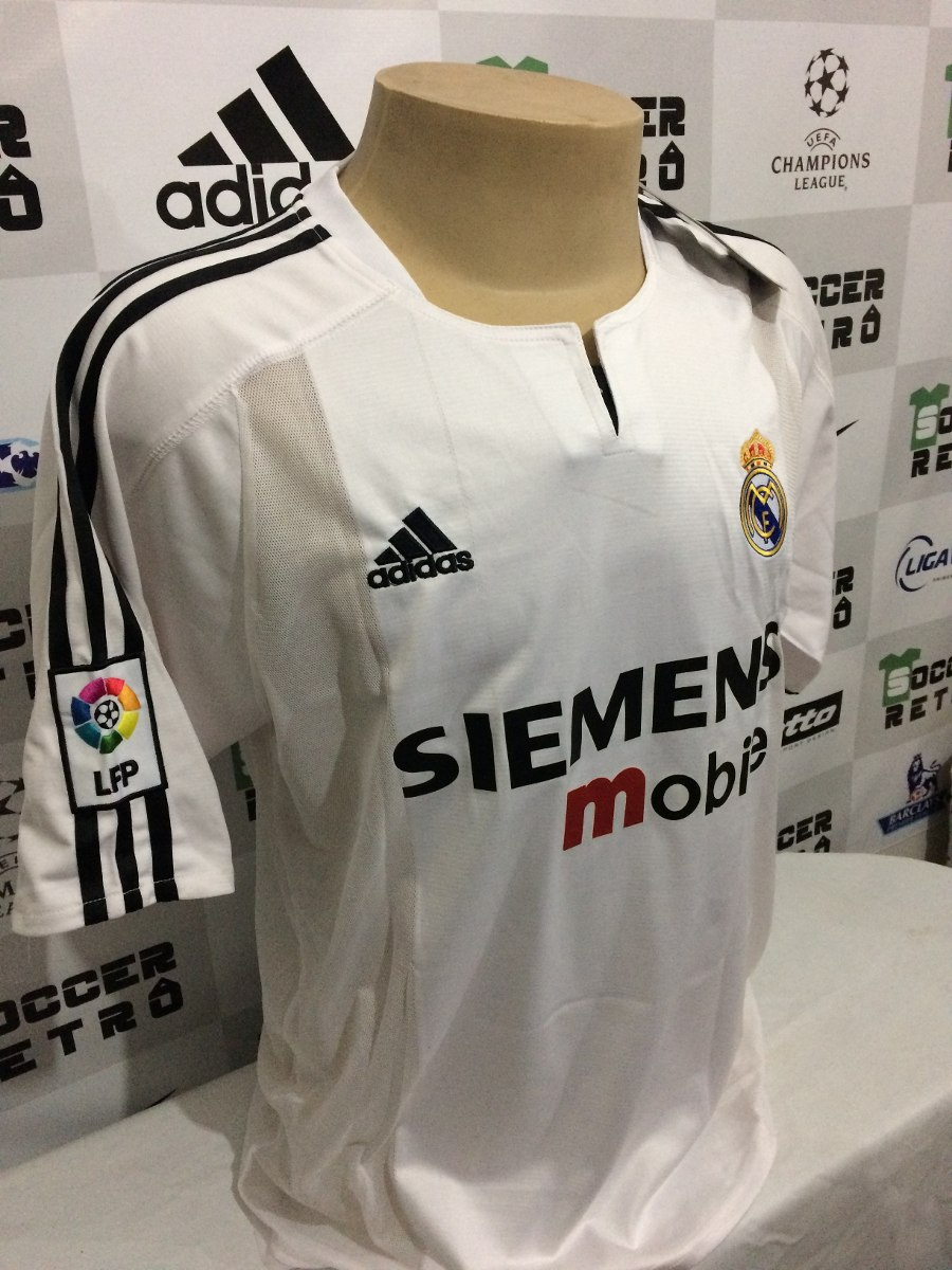 camisa real madrid 2004-05 ronaldo 9. Carregando zoom. 7a8b199c64bad