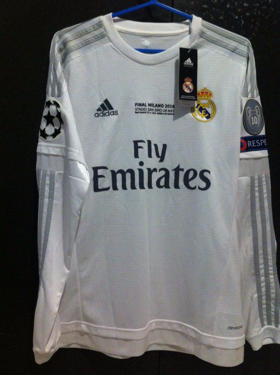 Camisa Real Madrid 2016 Final Champions Ronaldo 7 M