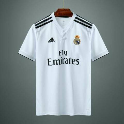 Camisa Real Madrid 2018 19 Original Kit 2 Camisetas - R  299 36759bdfef474
