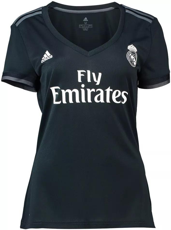 camisa real madrid 2018 19 promoção feminina. Carregando zoom. d6ab90ab17017