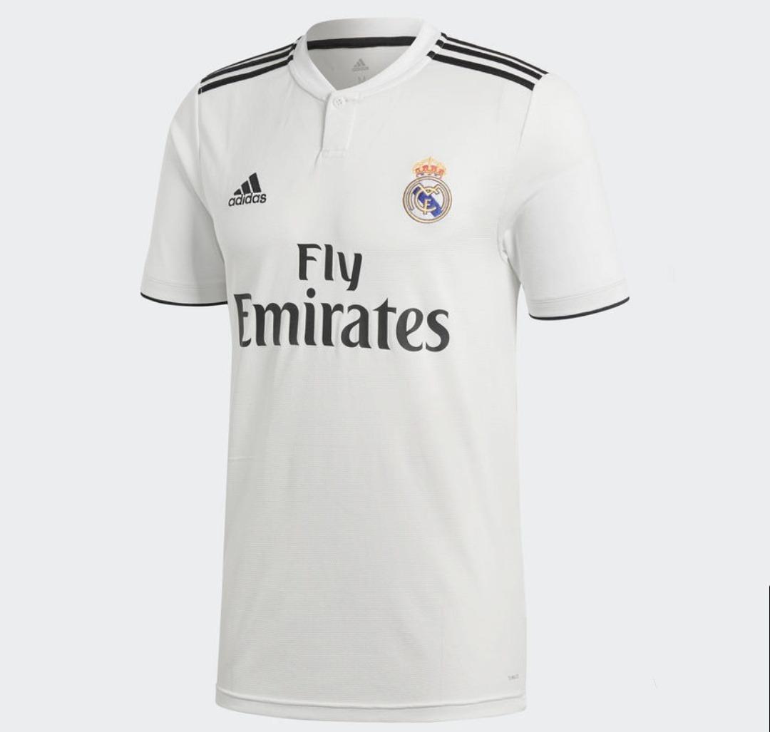 8f0689d6 camisa real madrid 2018/2019 frete grátis - pronta entrega! Carregando zoom.