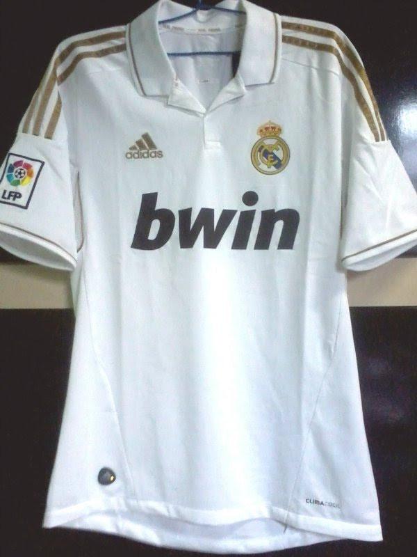 Camisa adidas Real Madrid 2011-2012 - R  419 fb69e50d0dfef