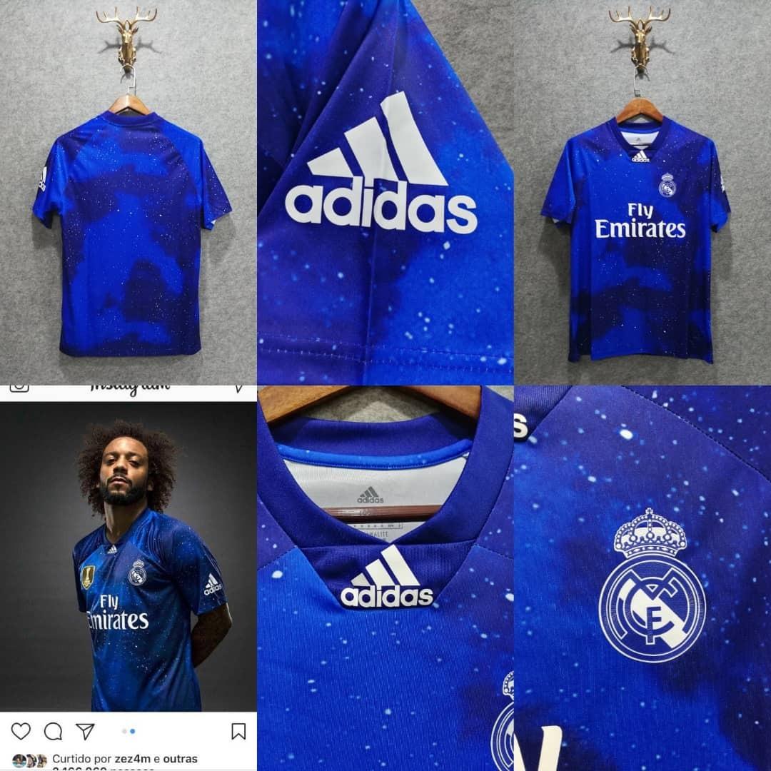 6295ee940810d Características. Marca Adidas  Time Real Madrid  Tipo de camisa torcedor ...