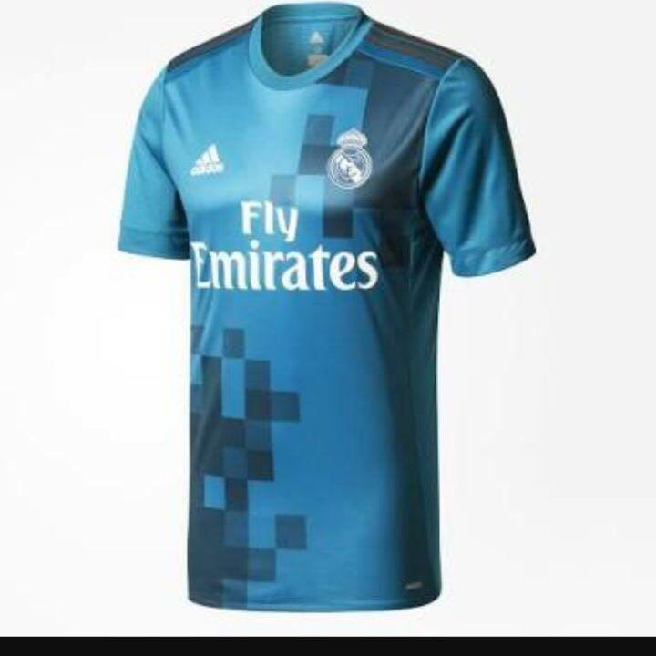 dbd2a97455b Nova Camisa adidas Real Madrid 2018 Azul - R  75