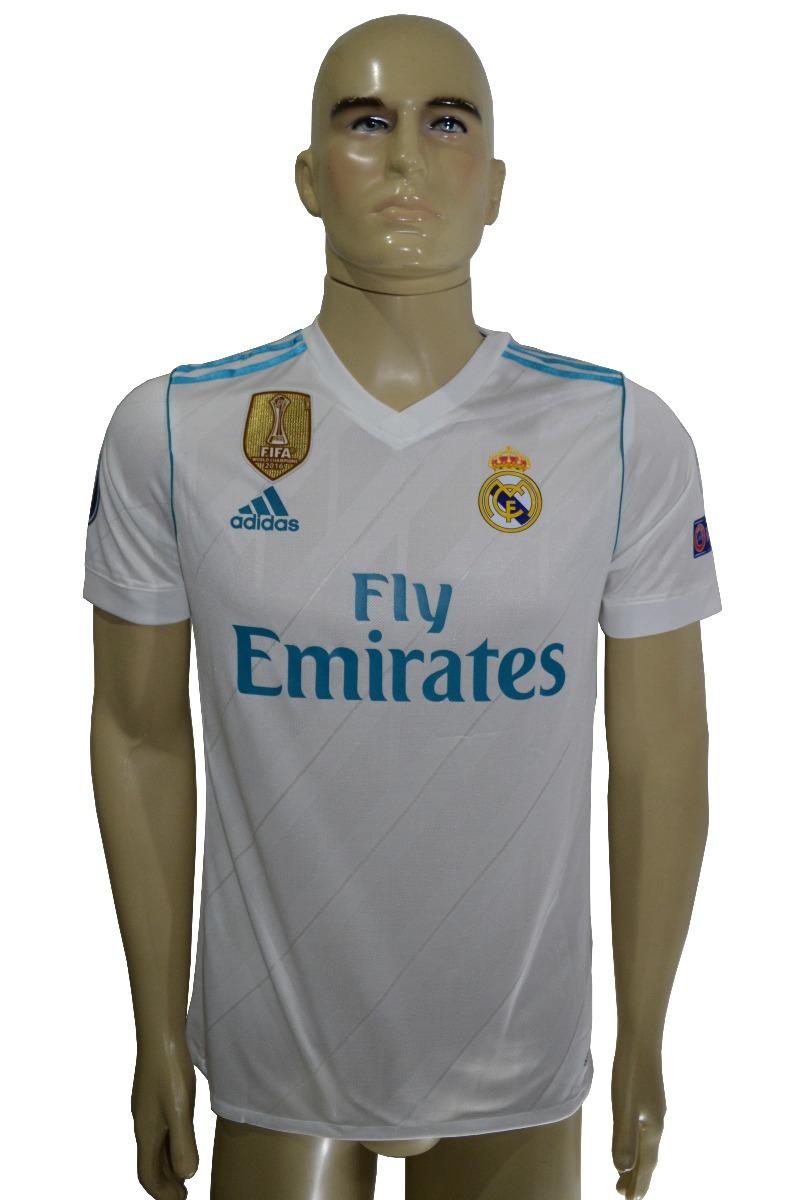b9a83f362b4f2 Camisa Do Real Madrid 17 18 Jogador - R  139