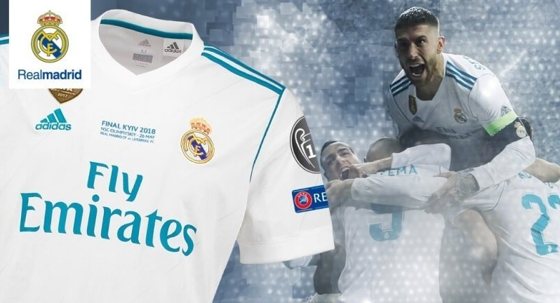 Camisa Real Madrid Final Champions 2018 fb7c01a68a22f