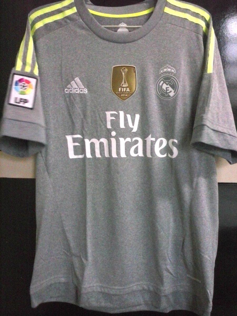 Camisa adidas Real Madrid Away 2015-2016 - R  419 64cd9bff6c9aa