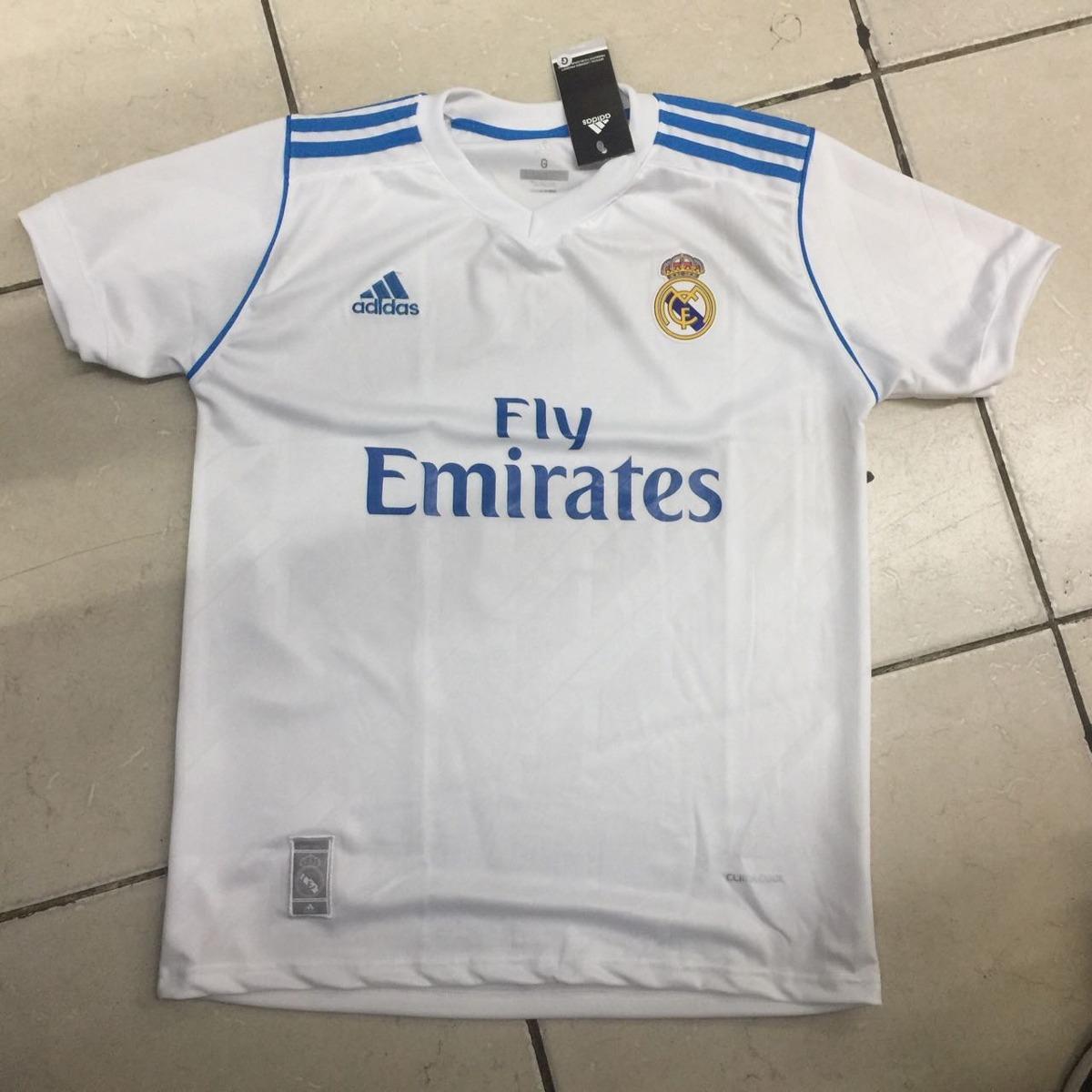 6ae82edc2fc Nova Camisa adidas Real Madrid 2018 Original - R  75