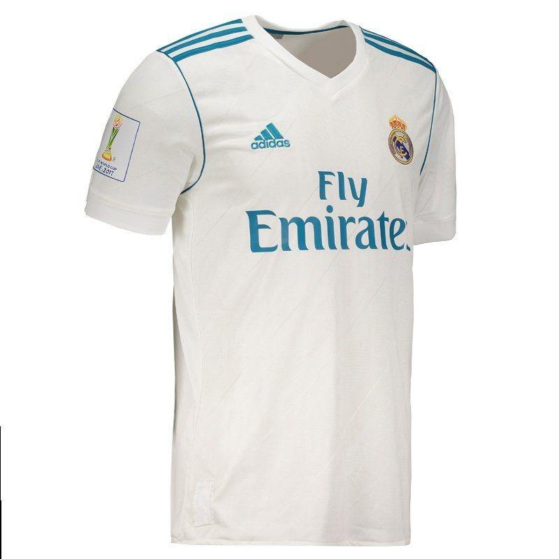 57b2fe00ba Camisa adidas Real Madrid Home 2018 Mundial De Clubes - R  239