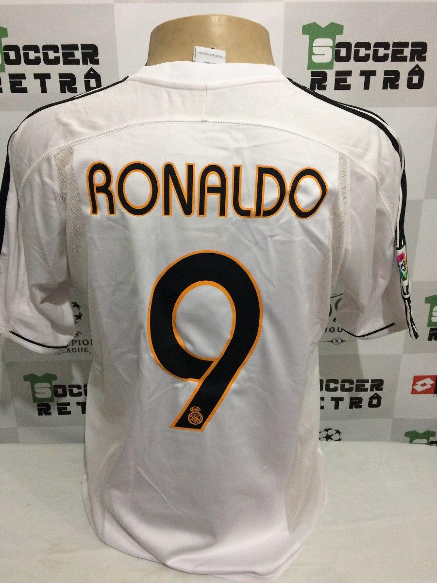 camisa real madrid 2004-05 ronaldo 9. Carregando zoom... camisa real madrid.  Carregando zoom. eacf9f8fb0fa5