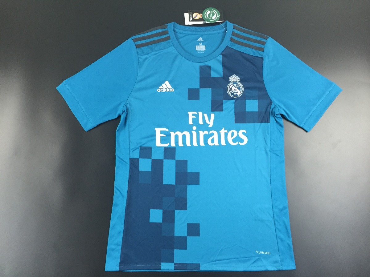 camisa real madrid adidas 3o. uniforme 17 18 - frete gratis. Carregando zoom . 551688ffa2532