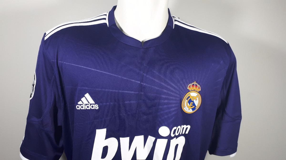 camisa real madrid adidas temporada 2010 11 roxo novo. Carregando zoom. 5ea459eeffa59