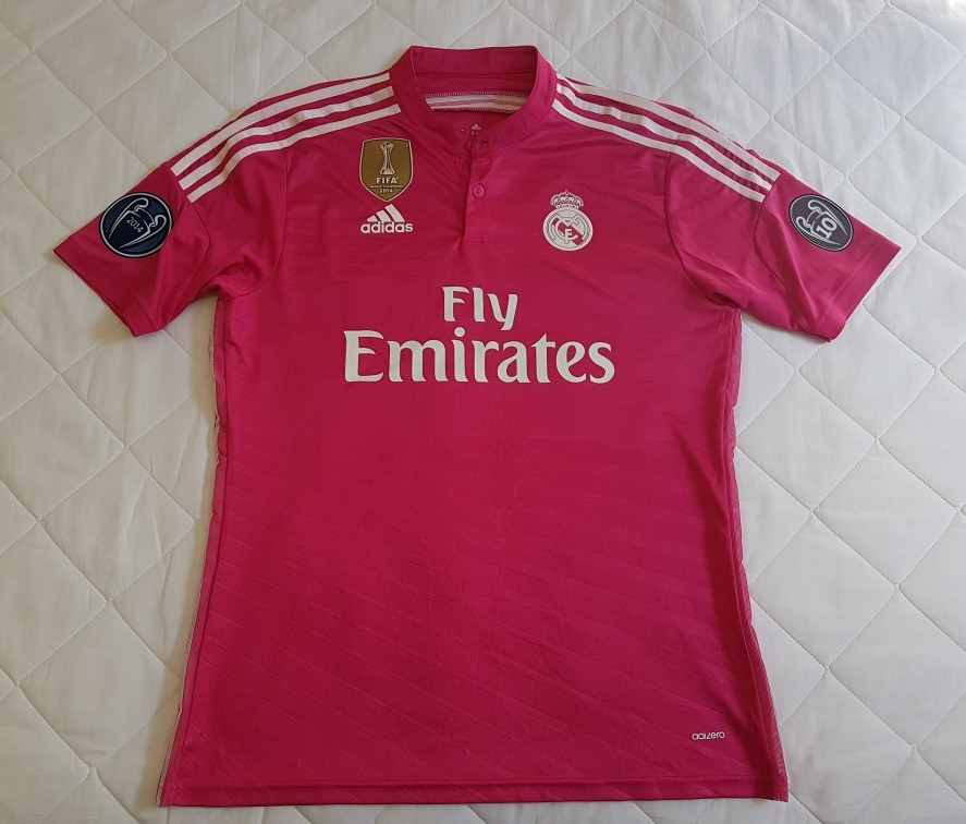 12a81fe0338 camisa real madrid away 14 15 adizero - champions league. Carregando zoom.