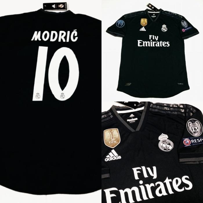 828725861 Camisa Real Madrid Away 2018 - Jogador - R  243