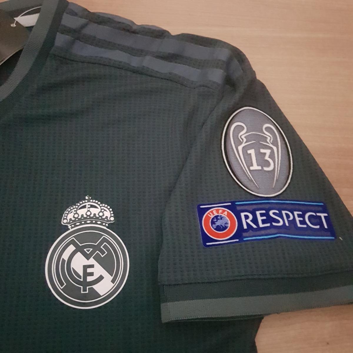 74c90ce2e Camisa Real Madrid Away Climachill 2019 Ucl Pronta Entrega - R  179 ...