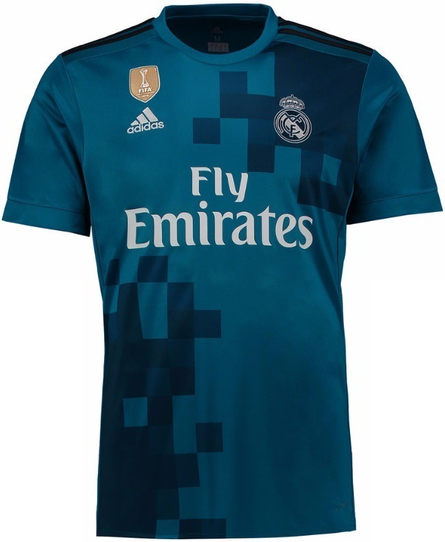 camisa real madrid azul 2018 oficial - ronaldo marcelo bale