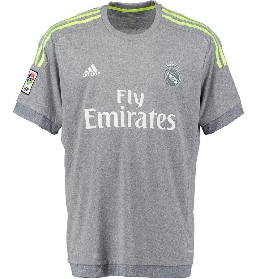 Levántate Templado Arrestar  Camisa Real Madrid Camiseta Cinza adidas Xl Tamanho Grande - R ...
