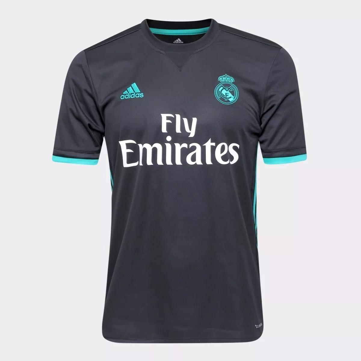 2eed8b5b36e2a camisa real madrid champions torcedor oficial 2018. Carregando zoom.