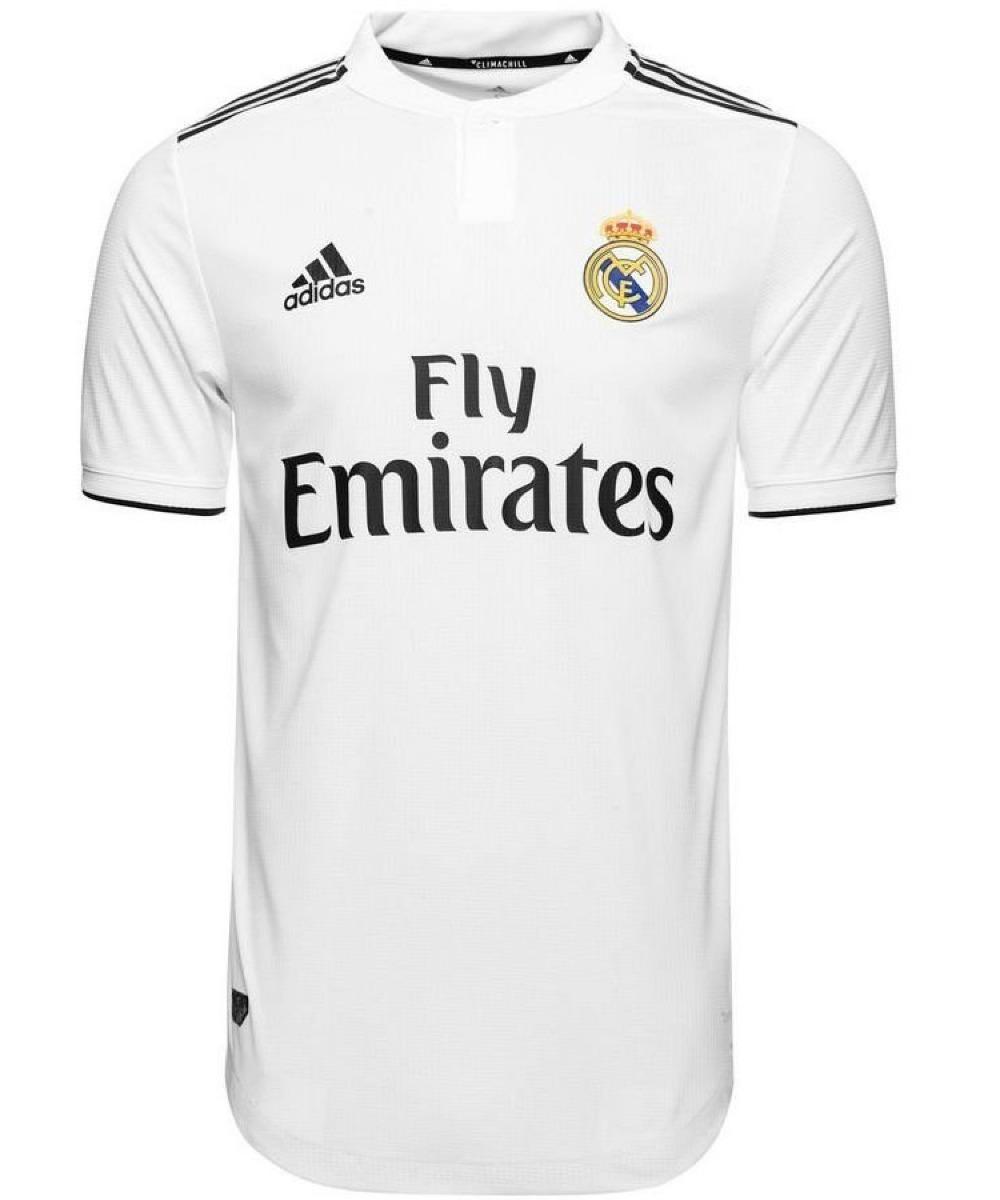 ... camisa real madrid climachill autentica 18 19 s n° original. Carregando  zoom. c84dc7c3ae26e