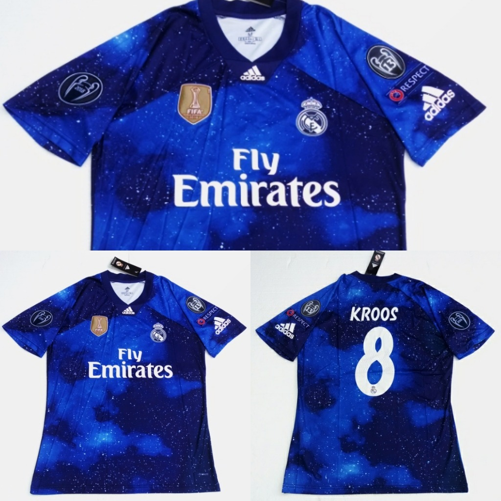 size 40 64cc8 2d364 Camisa Real Madrid Easports 2019 (pronta Entrega)