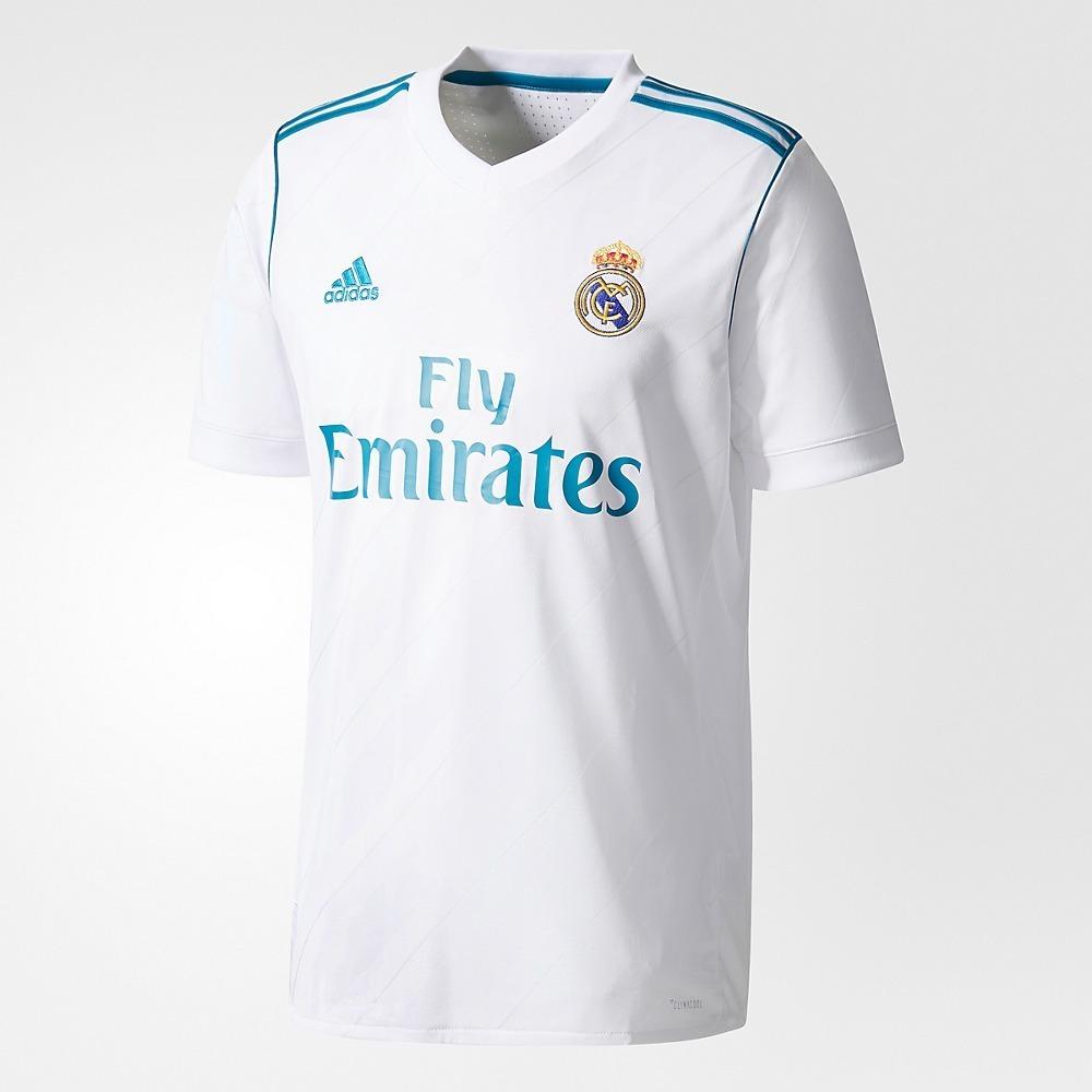 camisa real madrid home 17 18 - nome cr7 - adidas masculina. Carregando  zoom. cd703195f27a2