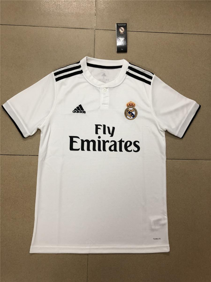 96a2d0b51eaa4 camisa real madrid i 18 19 100% original frete gratis. Carregando zoom.