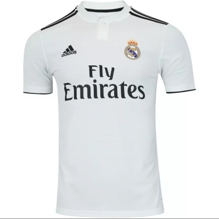 Camisa Real Madrid Modric 10 - 2018 2019 adidas - R  120 c1fb0a1a816bc