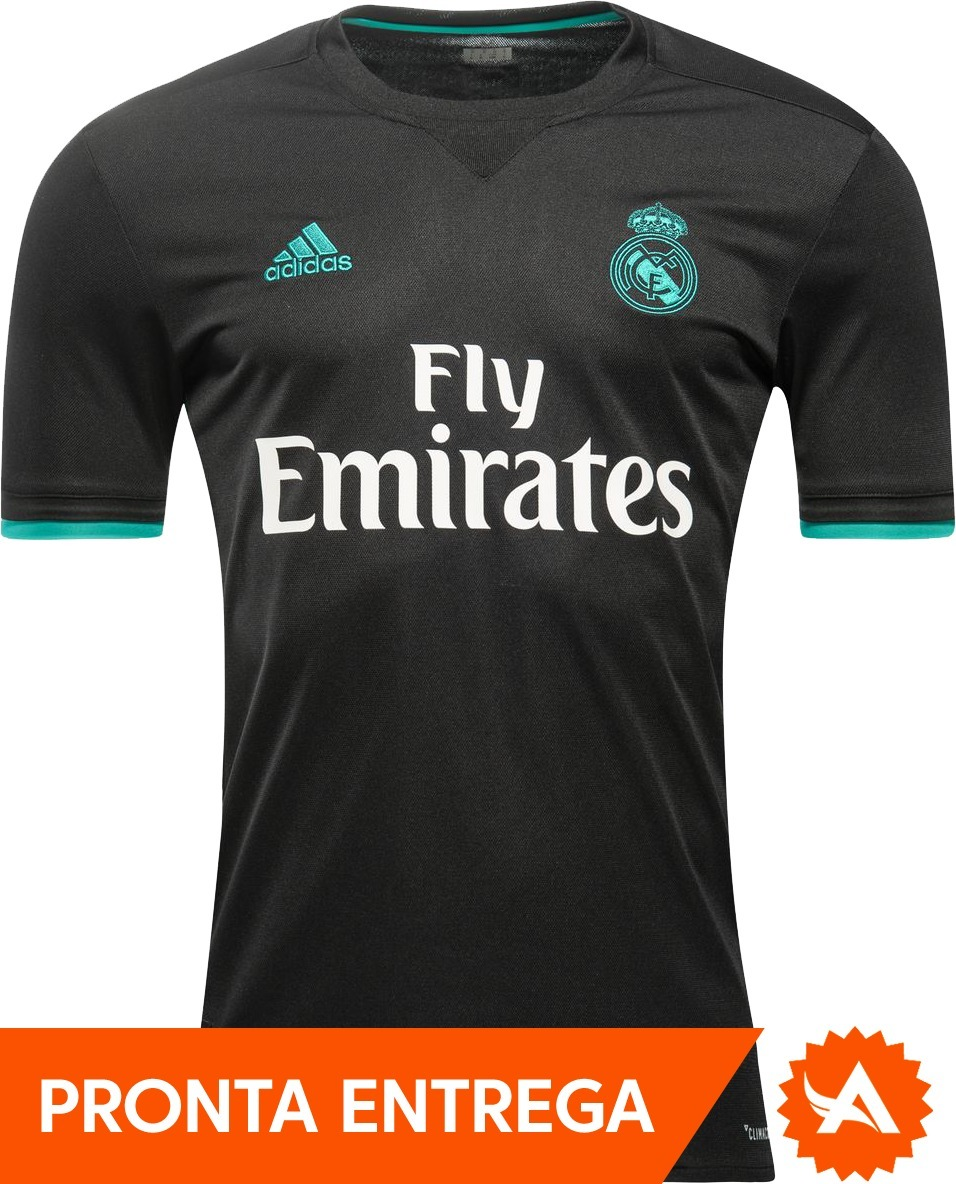 camisa real madrid oficial 100% original 2017 2018 - video. Carregando zoom. 12f6289a4ddbb