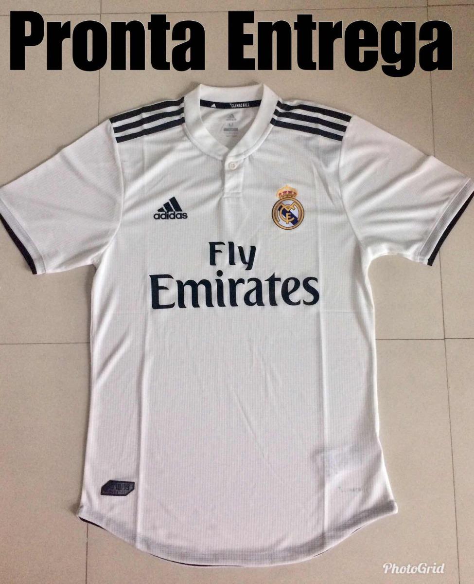 ... camisa real madrid oficial 18 19 versão jogador fotos reais. Carregando  zoom. 2676334bd2054c  Camisa Adidas Alemanha ... a0f8c8d75bb0e